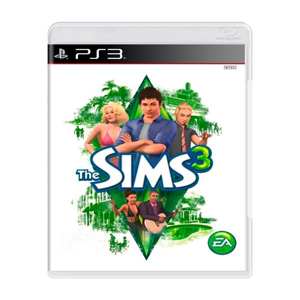 Jogo The Sims 3 - PS3 Seminovo