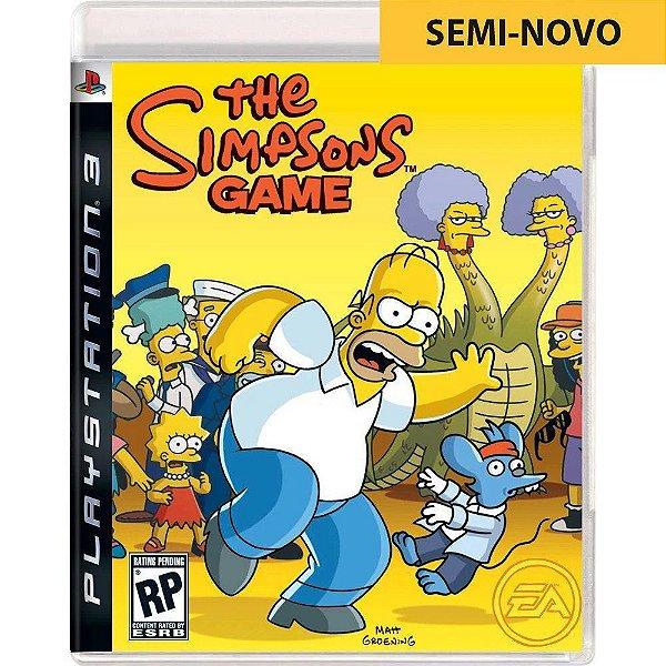 Jogo The Simpsons Game - PS3 Seminovo