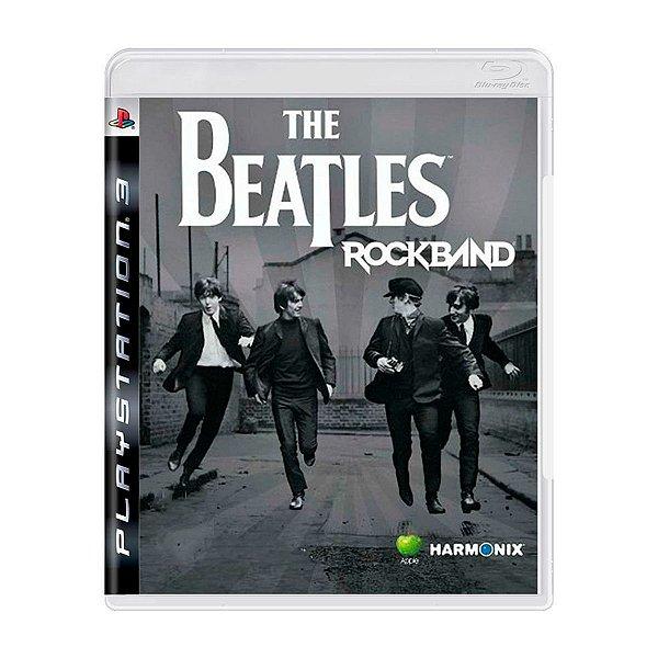 Jogo The Beatles Rock Band - PS3 (Seminovo)