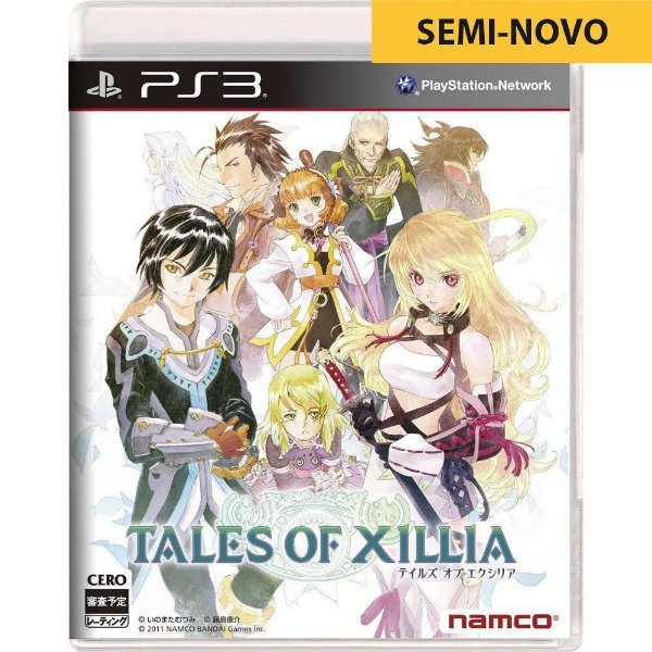Jogo Tales of Xillia - PS3 (Seminovo)