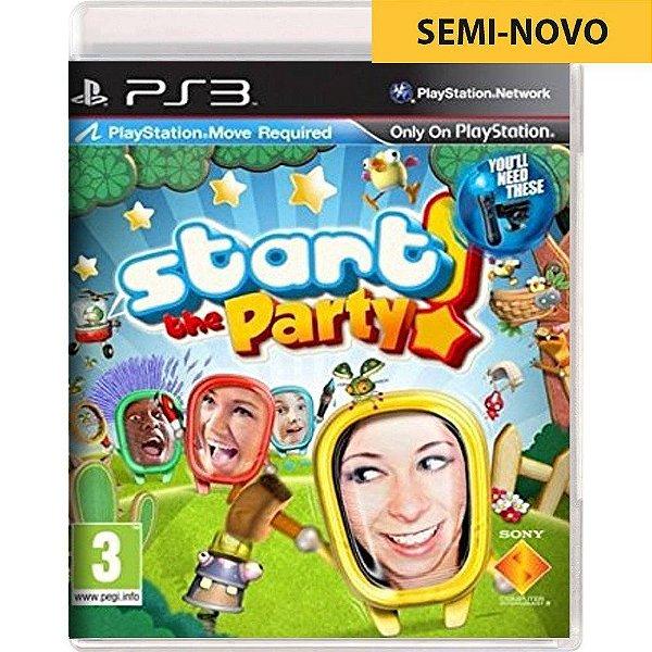 Jogo Start the Party! - PS3 Seminovo