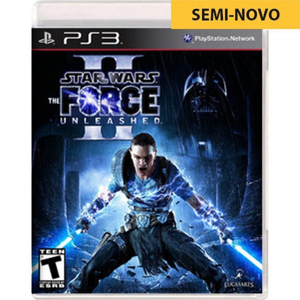Jogo Star Wars The Force Unleashed 2 - PS3 (Seminovo)