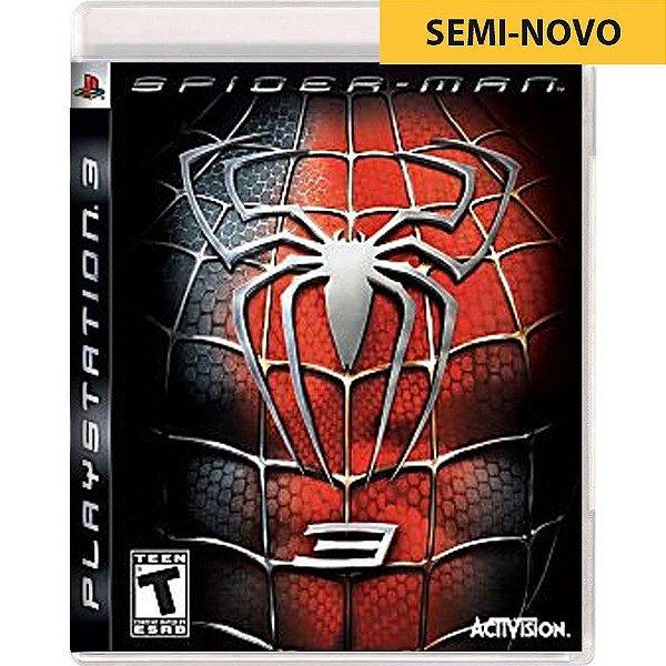 Jogo Spider Man 3 - PS3 (Seminovo)