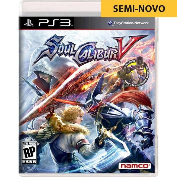 Jogo Soul Calibur V - PS3 Seminovo