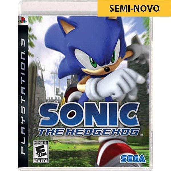 Jogo Sonic The Hedgehog - PS3 (Seminovo)