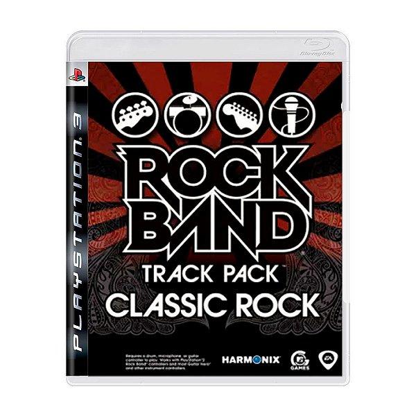 Jogo Rock Band Track Pack Classic Rock - PS3 (Seminovo)
