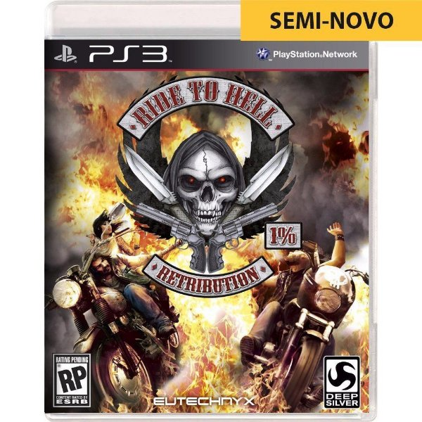 Jogo Ride to Hell Retribution - PS3 (Seminovo)