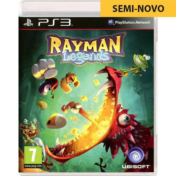 Jogo Rayman Legends - PS3 (Seminovo)