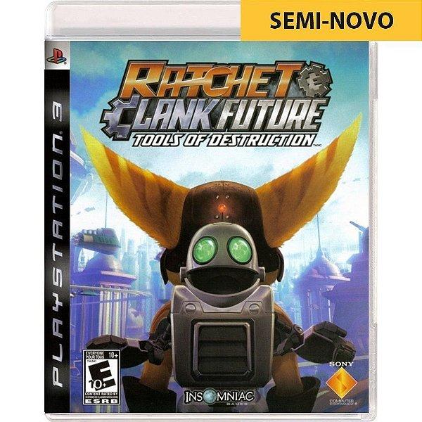 Jogo Ratchet & Clank Future Tools of Destruction - PS3 (Seminovo)