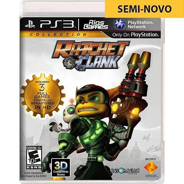 Jogo Ratchet & Clank Collection - PS3 Seminovo