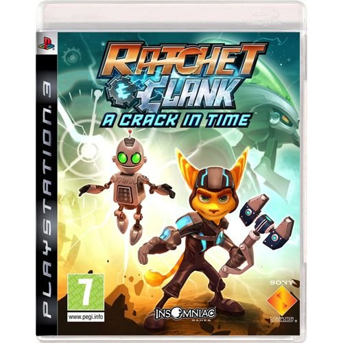 Jogo Ratchet & Clank A Crack in Time - PS3 (Seminovo)