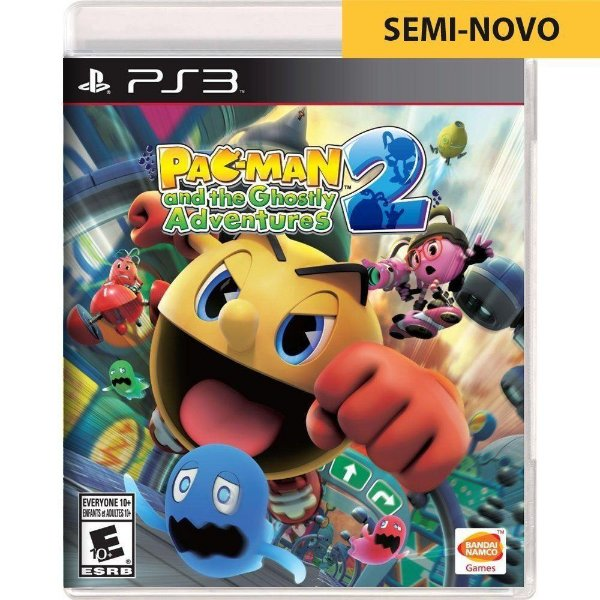 Jogo Pac-Man and The Ghostly Adventures - PS3 Seminovo