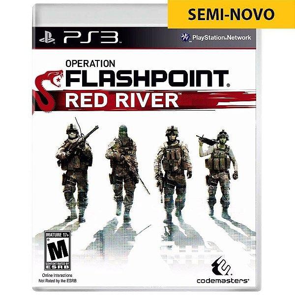 Jogo Operation Flashpoint Red River - PS3 Seminovo