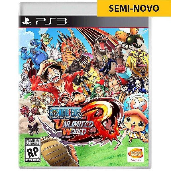 Jogo One Piece Unlimited World Red - PS3 (Seminovo)
