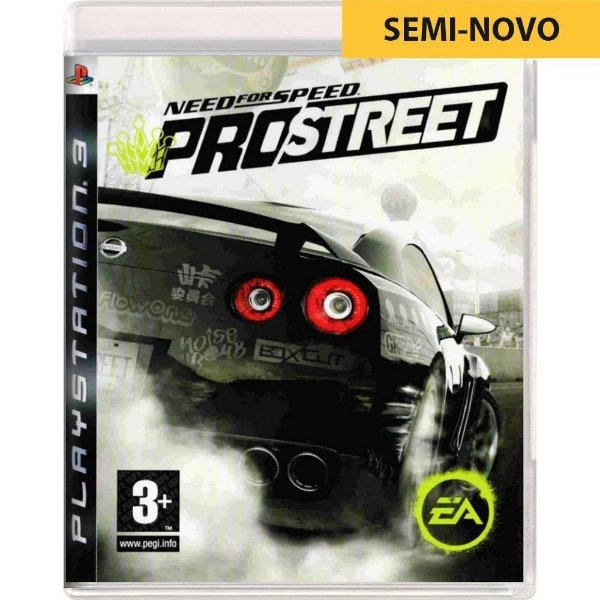 Jogo Need For Speed Pro Street - PS3 (Seminovo)