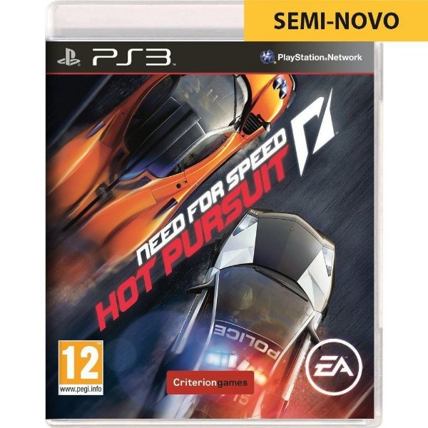 Jogo Need For Speed Hot Pursuit - PS3 Seminovo