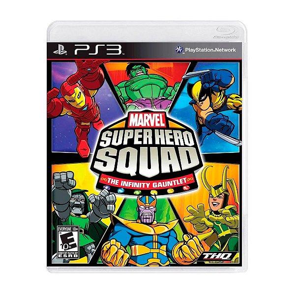 Jogo Marvel Super Hero Squad - PS3 Seminovo