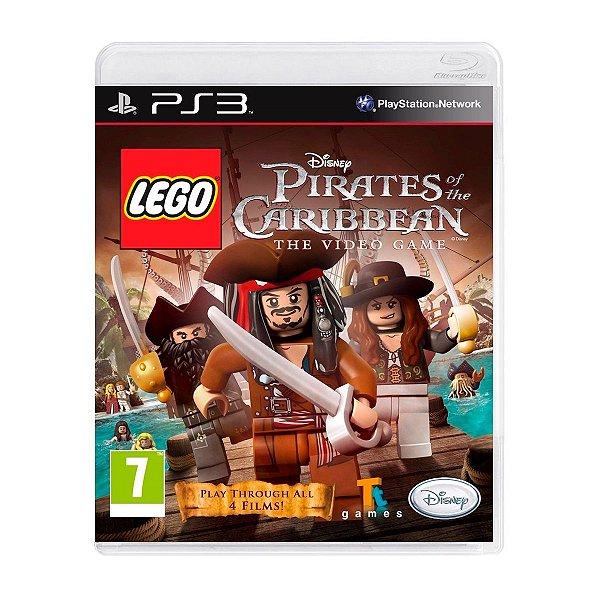 Jogo LEGO The Pirates of The Caribbean - PS3 Seminovo