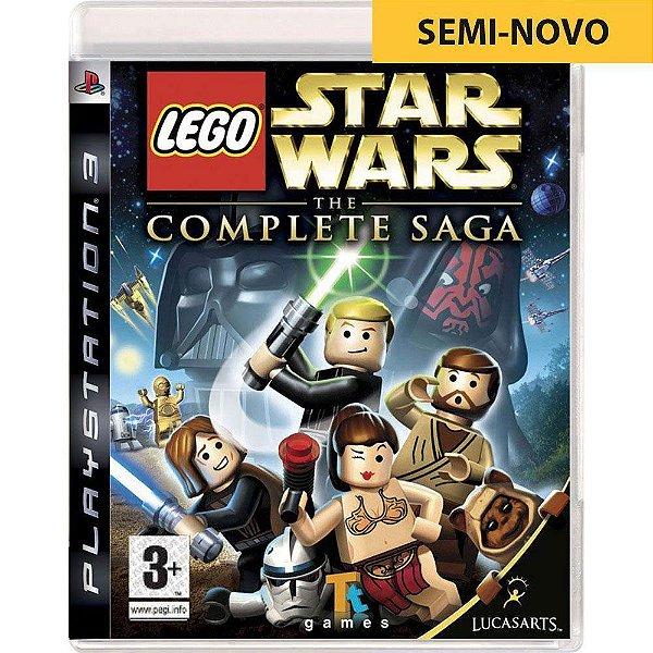 Jogo LEGO Star Wars The Complete Saga - PS3 (Seminovo)