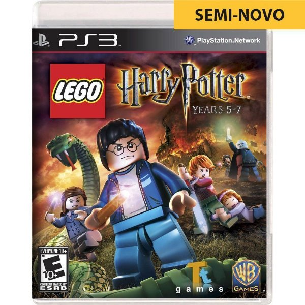 Jogo LEGO Harry Potter Years 5-7 - PS3 (Seminovo)