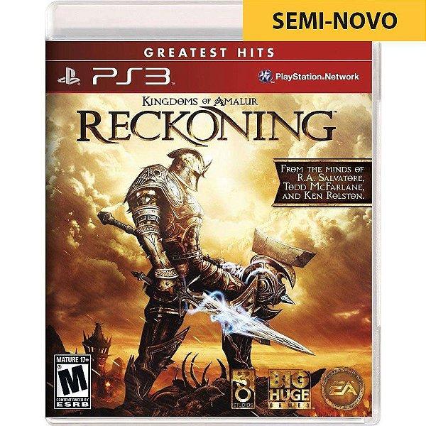 Jogo Kingdoms of Amalur Reckoning - PS3 Seminovo