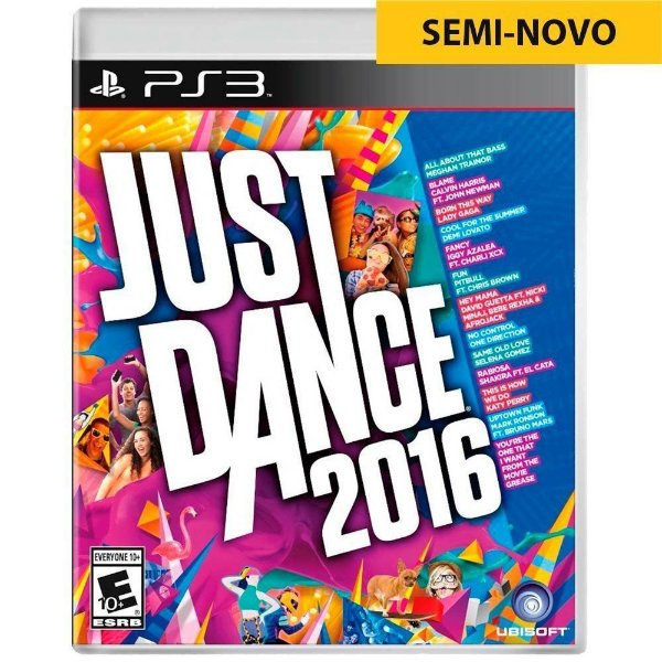 Jogo Just Dance 2016 - PS3 Seminovo