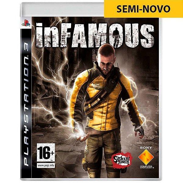 Jogo inFAMOUS - PS3 (Seminovo)