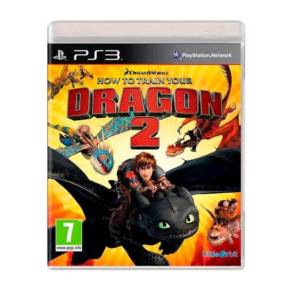 Jogo How to Train Your Dragon 2 The Video Game - PS3 Seminovo