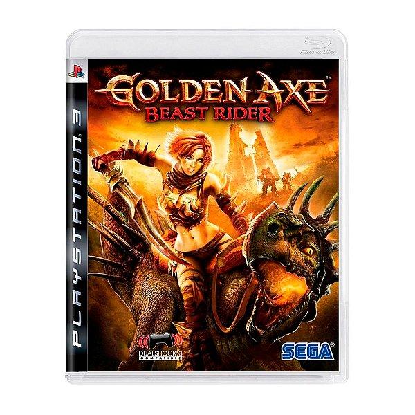 Jogo Golden Axe Beast Rider - PS3 Seminovo