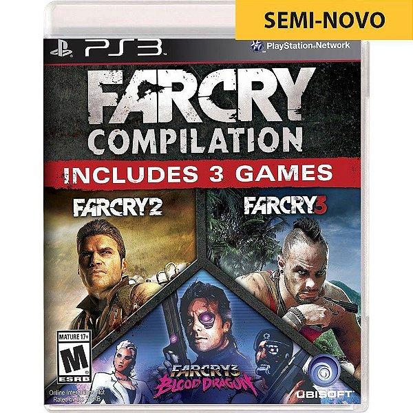 Jogo Far Cry Compilation - PS3 Seminovo