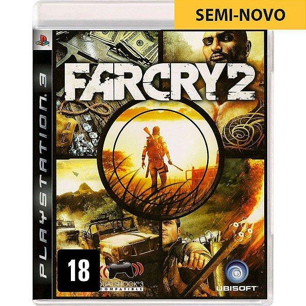 Jogo Far Cry 2 - PS3 Seminovo