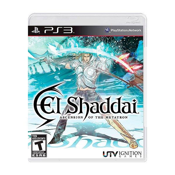 Jogo El Shaddai Ascension of The Metatron - PS3