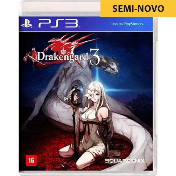 Jogo Drakengard 3 - PS3 Seminovo