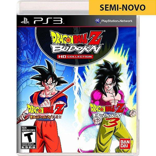 Jogo Dragon Ball Z Budokai HD Collection - PS3 Seminovo