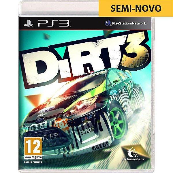 Jogo Dirt 3 - PS3 Seminovo