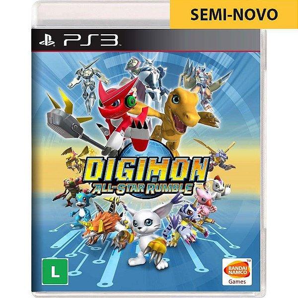 Jogo Digimon All-Star Rumble - PS3 Seminovo