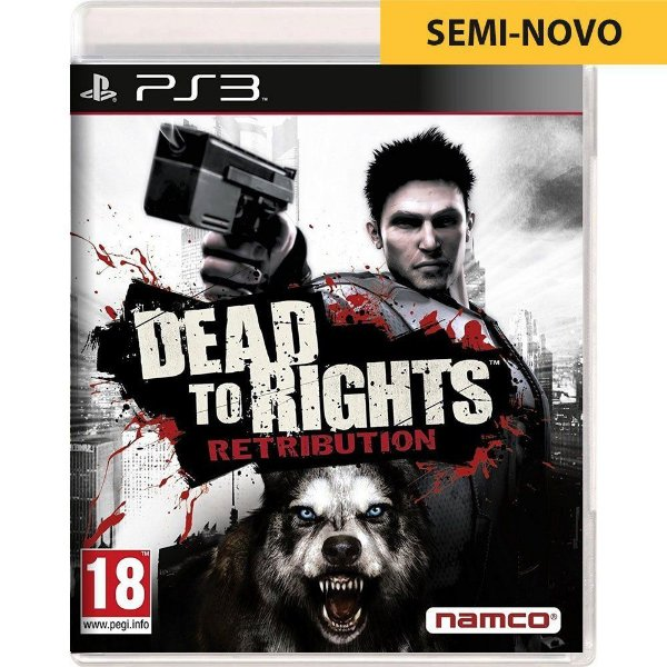 Jogo Dead to Rights Retribution - PS3 (Seminovo)