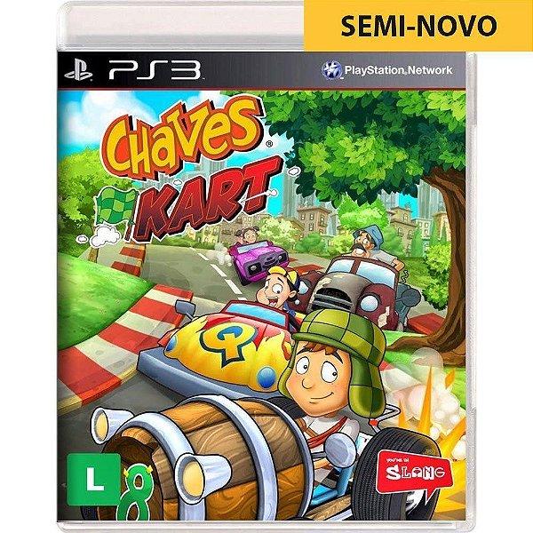 Jogo Chaves Kart - PS3 Seminovo