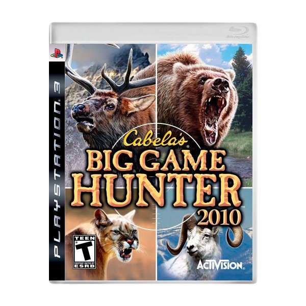 Jogo Cabelas Big Game Hunter 2010 - PS3 (Seminovo)