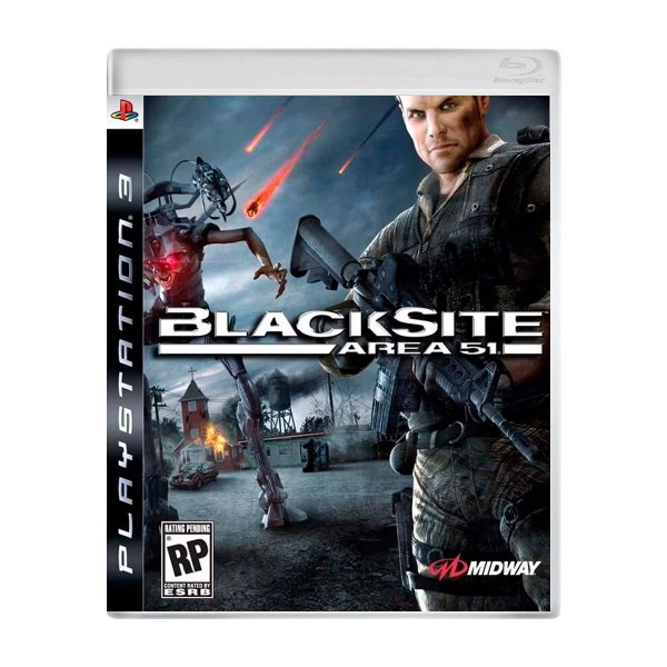 Jogo BlackSite Area 51 - PS3 (Seminovo)