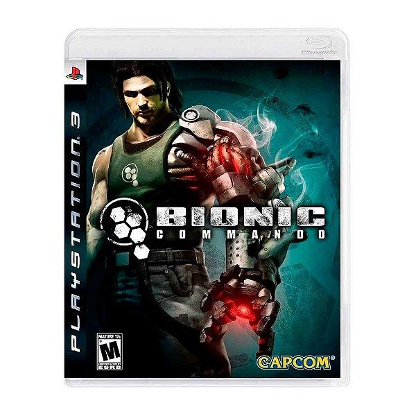 Jogo Bionic Commando - PS3 (Seminovo)