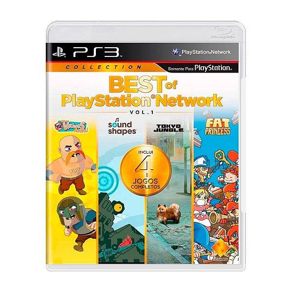 Jogo Best of Playstation Network Vol. 1 - PS3 Seminovo