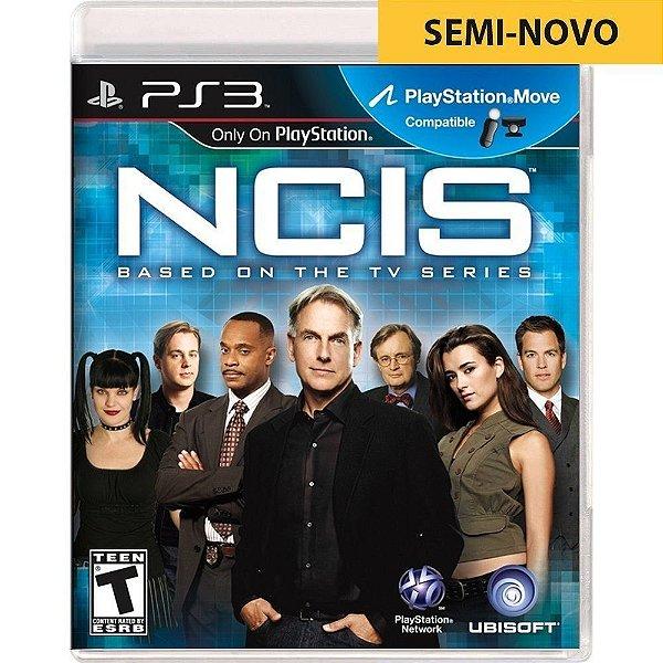 Jogo Ncis Based On The TV Series - PS3 Seminovo