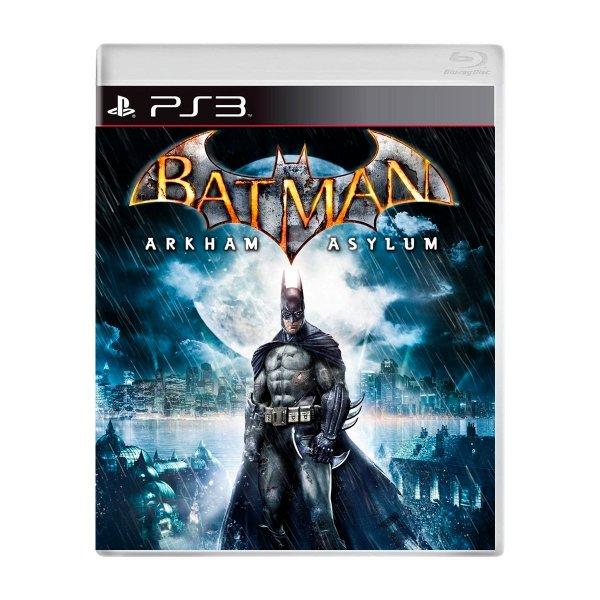 Jogo Batman Arkham Asylum - PS3 Seminovo