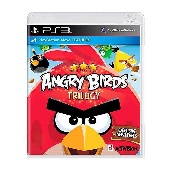 Jogo Angry Birds Trilogy - PS3 Seminovo