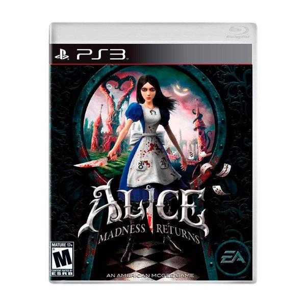 Jogo Alice Madness Returns - PS3 Seminovo