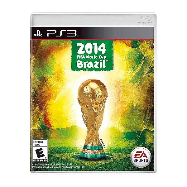 Jogo 2014 FIFA World Cup Brazil - PS3 (Seminovo)