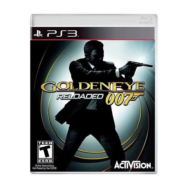 Jogo 007 Goldeneye Reloaded - PS3 Seminovo