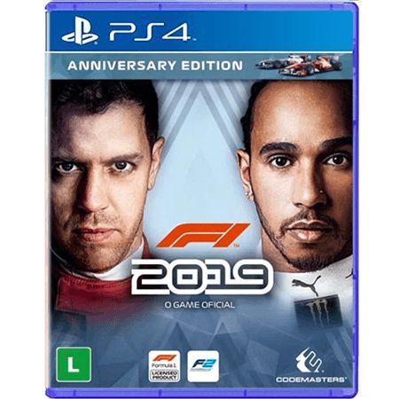 Jogo F1 2019 - PS4 Seminovo