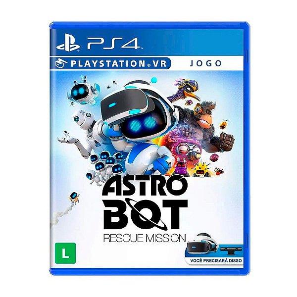Jogo Astro Bot Rescue Mission VR - PS4
